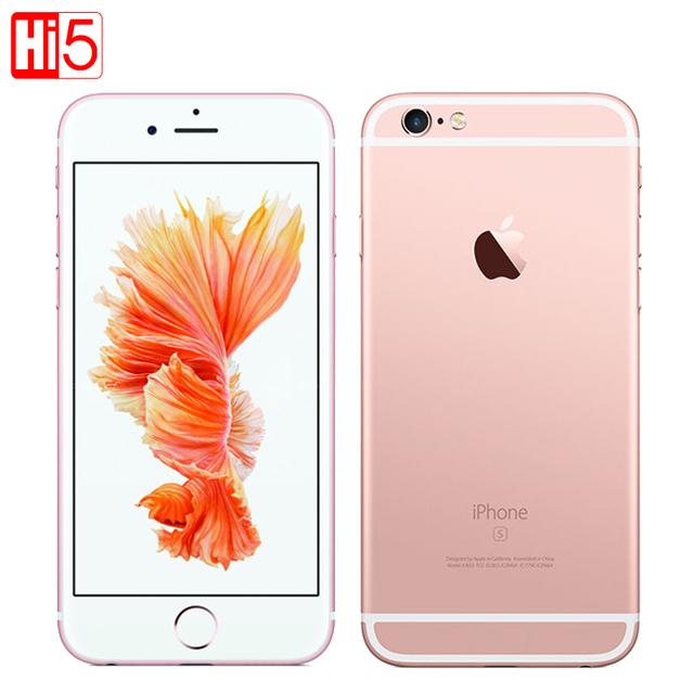 Оригинальный Apple iPhone 6 S Plus мобильный телефон IOS 9 Dual Core 2 ГБ ОПЕРАТИВНОЙ ПАМЯТИ 16/64/128 ГБ ROM 5.5 ''12.0MP Камера LTE Используется iphone6s plus