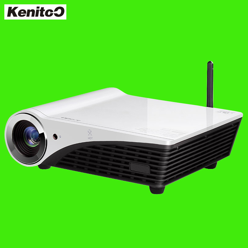 Build-in Win10 System DLP Projector 4K 3D Multi-media Home Theater Projector Full HD Free Shipping