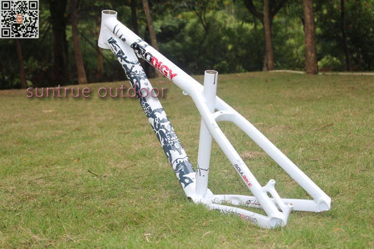 white  SOULBIKE PRODIGY hard tail frame AM mountain forest road off-road enduro TRAIL non soft tail<br><br>Aliexpress