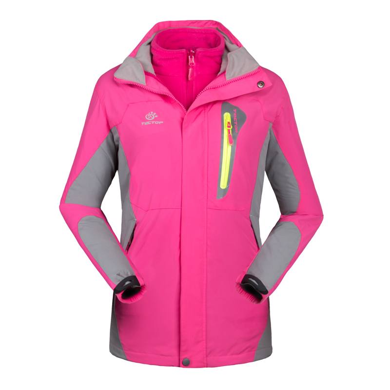 Waterproof Hiking Jacket Women Wind Breaker Hunting Clothing Outdoor Sports Thermal Fleece Size:X-2XL 4038 - Lifes store