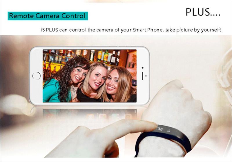 """ถูก ล่าสุดNew I5plusดูสมาร์ท0.91 """"OLEDหน้าจอสัมผัสs martbandท่าทางควบคุมTPU s mart w atchข้อความผลักดันIP67 smartbracelet"""