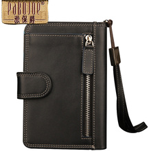 NEW Fashion Brand Wallet Men Mobile Phone Purse Multi functional Genuine Lether Wallets Clutch Card Holder
