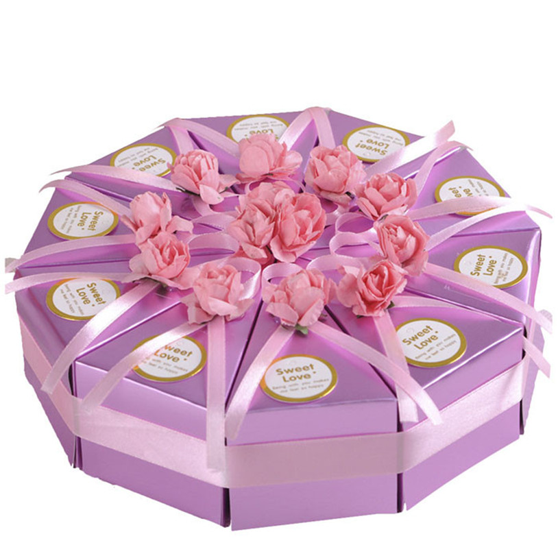 European Creative Candy Box Cake Boxes Favor Candy Box For wedding(China (Mainland))