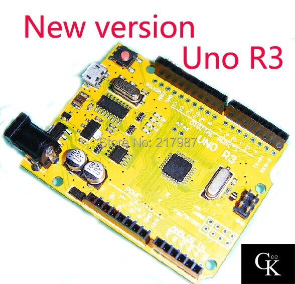 UNO R3 MEGA328P CH340G arduino NO USB CABLE - Geek World store