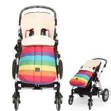 Thick warm Baby Stroller Sleeping bag toddlers winter stroller zipper envelope Blanket toddler Oxford footmuff for wheelchair (China (Mainland))