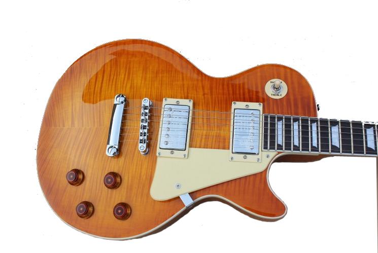 Custom shop 1959 R9 Tiger Flame electric guitar Standard LP 59 guitar,! - Top reputation store