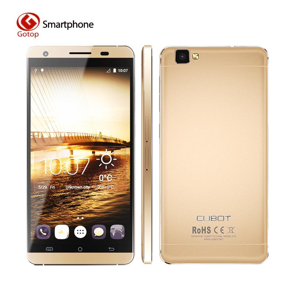 Original Cubot X15 5.5 FHD JDI 2.5D Screen Android 5.1 Lollipop 8/16MP Camera 4G MTK6735A Quad Core 2G RAM 16G ROM Smartphone(China (Mainland))