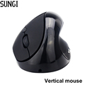 2016 New Optical Wireless Mouse Ergonomic Design High Quality 6 Buttons Vertical Mouse Wrist Healing For