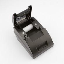 Pos printer Wholesale High quality 58mm thermal receipt printer machine printing speed 90mm/s USB interface(China (Mainland))