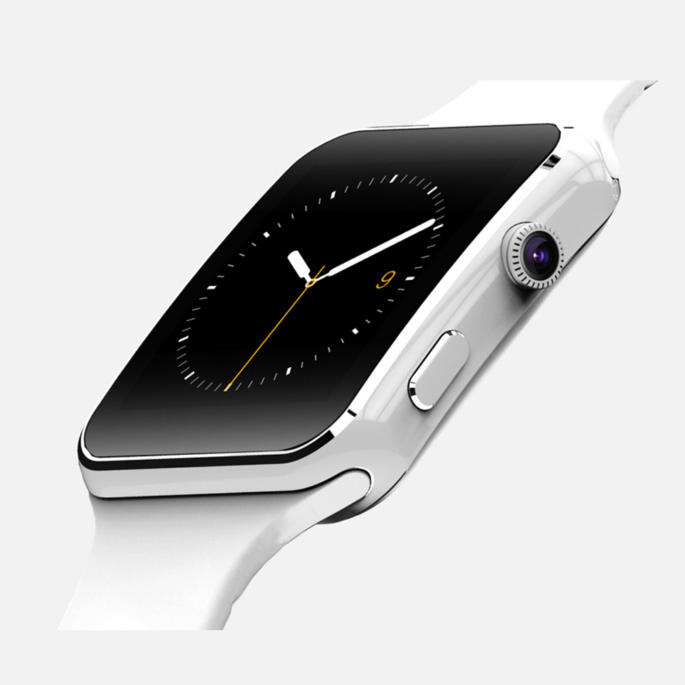 2016 New Bluetooth Smart Watch X6 Smartwatch wrist band Bracelet For Android Phone With Camera Support SIM Card TF 8977(China (Mainland))