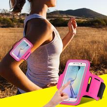 ผู้หญิง/ผู้ชายกันน้ำวิ่งกีฬาแขนวงซองหนังสำหรับSamsung Galaxy S7/S6/S5/S4/S3 A5 A3สำหรับLG G2 G3สำหรับHTC M7 M8กระเป๋า