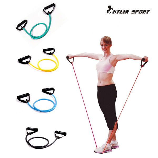 Pull Rope Elastic Rope Crossfit Set Multifunctional Training Equipment Rubber Band Belt Gym Equipment(China (Mainland))