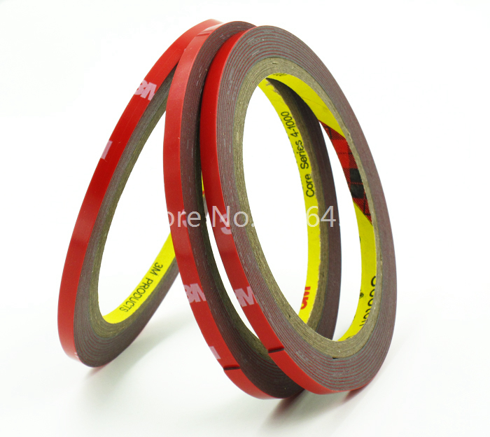 300 Rolls Lot 3m Tape Double Sided Sticker Acrylic Foam Adhesive Car Exterior Tape 3m 4229p