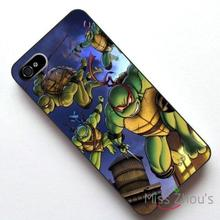For iphone 4/4s 5/5s 5c SE 6/6s plus ipod touch 4/5/6 back skins mobile cellphone cases cover Teenage Mutant Ninja Turtles