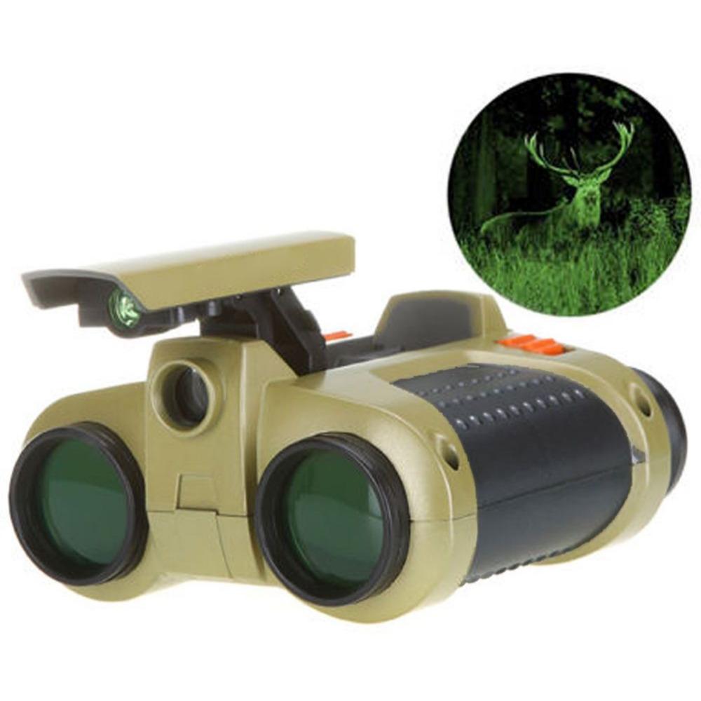 Night Vision Viewer Surveillance Spy Scope Binoculars Pop-up Light Tool 4x30mm(China (Mainland))