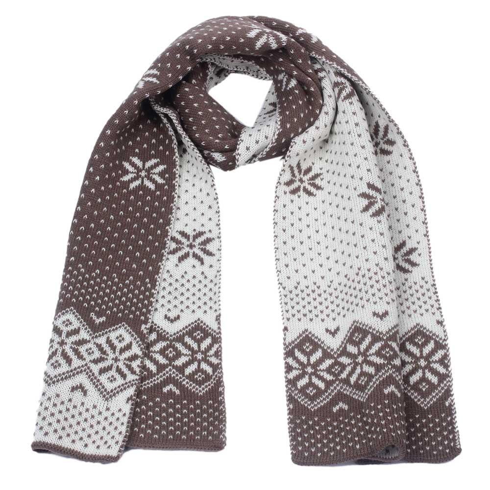 Christmas Snowflake Warm Scarves Thick Winter Shawl Women Men's Xmas Gift 2017 Winter Warm Scarf Outdoor Echarpe #Zer