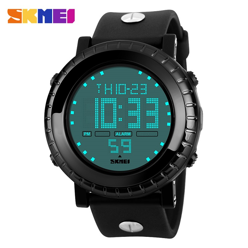 Luxury Skmei Sports Watches Fashion Outdoor Men Army Military LED Digital Watch Relojes Men's Wristwatches Relogio Masculino(China (Mainland))