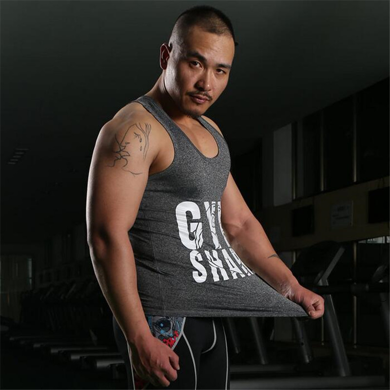 Men's Gym Tank Tops Muscle Stringer New Muscle Dog Cotton Body Building and Fitness Pro Combat Vests Sport Clothing Size M-XXL(China (Mainland))