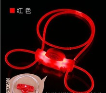 Dog Luminous leash pet LED flashing rope light cat dog ornaments dog neck lanyard pet accessories night security pet product(China (Mainland))