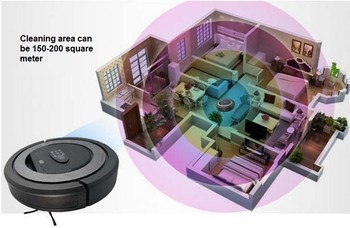 2014 new a best Robot Vacuum Cleaner robotic aspirador  4 In 1 Multifunction Sweep,Mop, Virtual Wall,Schedule Work,Self Charge