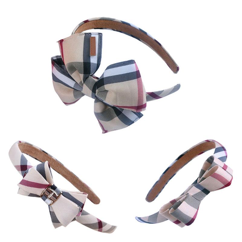 High Quality Hair Clips Plaid Fabric Bowknot Hair Accessories Korean Style Fashion Barrettes For Women Girls BB Clips Headwear(China (Mainland))