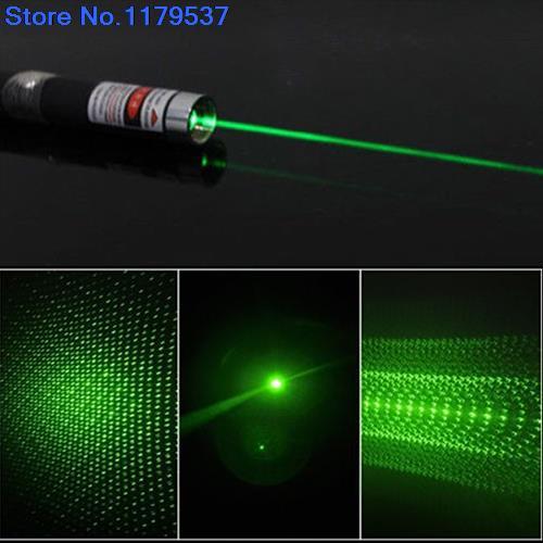 Гаджет  2015 new Powerful 5mw 532nm 6 in 1 Green Lazer Beam Light Laser Pointer Pen 5 Caps None Компьютер & сеть