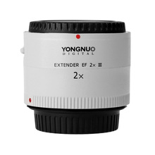 Buy Yongnuo YN-2.0X III PRO 2x Teleconverter Extender Auto Focus Mount Lens Camera Lens Canon EOS EF Lens Free lens bag for $169.99 in AliExpress store