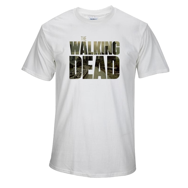 The Walking Dead T Shirt – 100% COTTON Short Sleeve Casual Tees