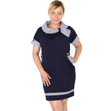 BFDADI 2016 осенные женские платья с коротким рукавом шарф воротник сексуальное платье Большой размер 4XL 5XL стюардесса женское платье 3286(China (Mainland))