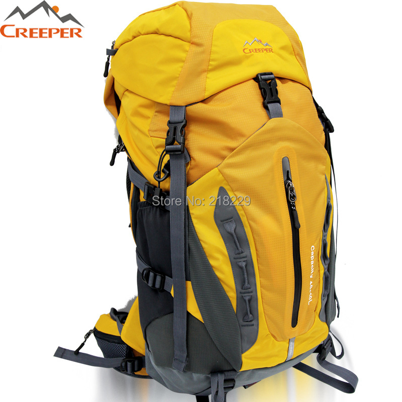 C19  50L  outdoor professional men and women mountaineering  backpack  nylon shoulder bag <br>