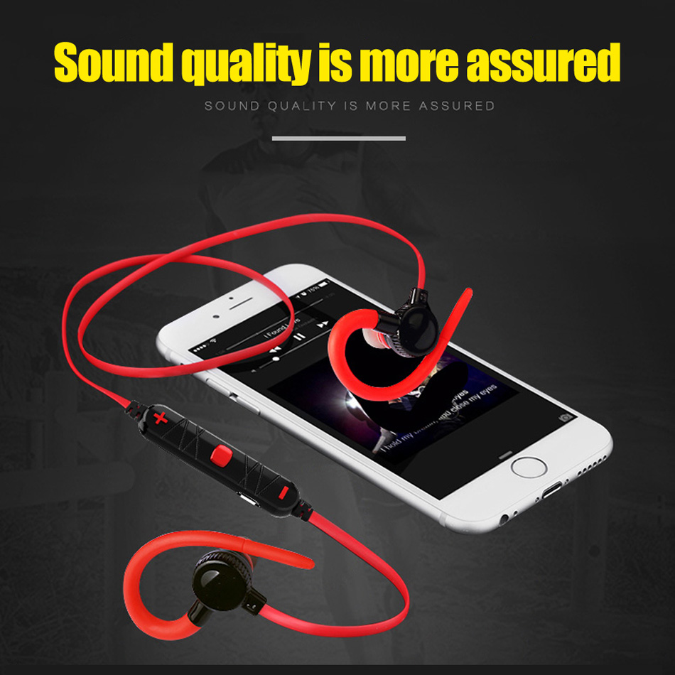 TTLIFE Professional sports Music bluetooth Stereo earphone V4.0 Wireless Ear Hook Headset With mic For Phones fone de ouvido