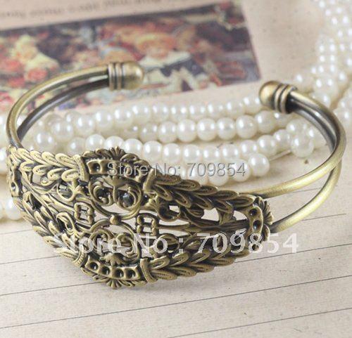 free shipping!!! 20pcs/lot Antique bronze bracelet jewelery findings/bracelet accessories<br><br>Aliexpress