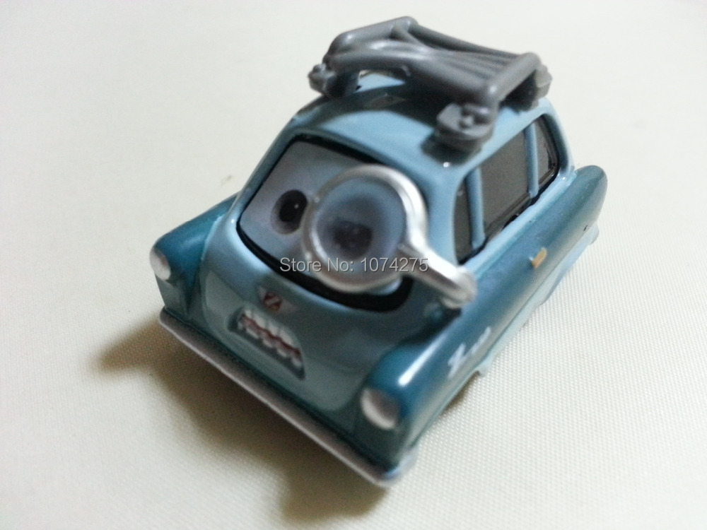 Pixar Cars Professor Z With Glasses Metal Diecast Toy Car 1:55 Loose Brand New In Stock & Free Shipping(China (Mainland))