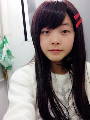 60cm black hair MekakuCity Actors Tateyama Ayano Halloween lolita wig Synthetic Hair Cosplay Anime Wigs with red hairpin<br><br>Aliexpress