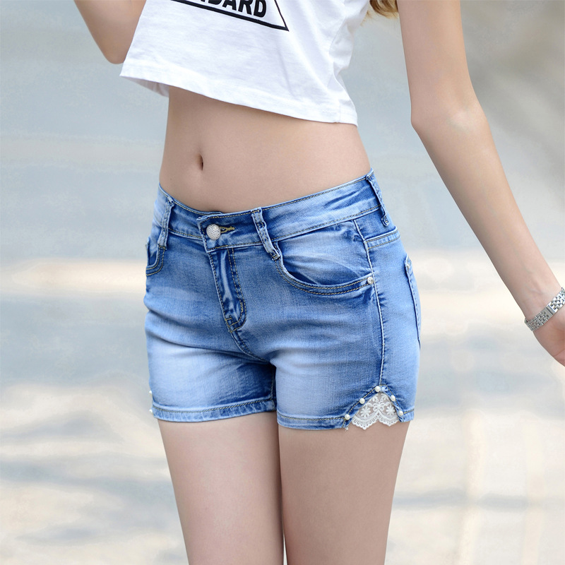 Fashion Jean Good Quality Shorts Women Casual Summer Outwear Short Match Free Lace Womens Denim ShortsОдежда и ак�е��уары<br><br><br>Aliexpress