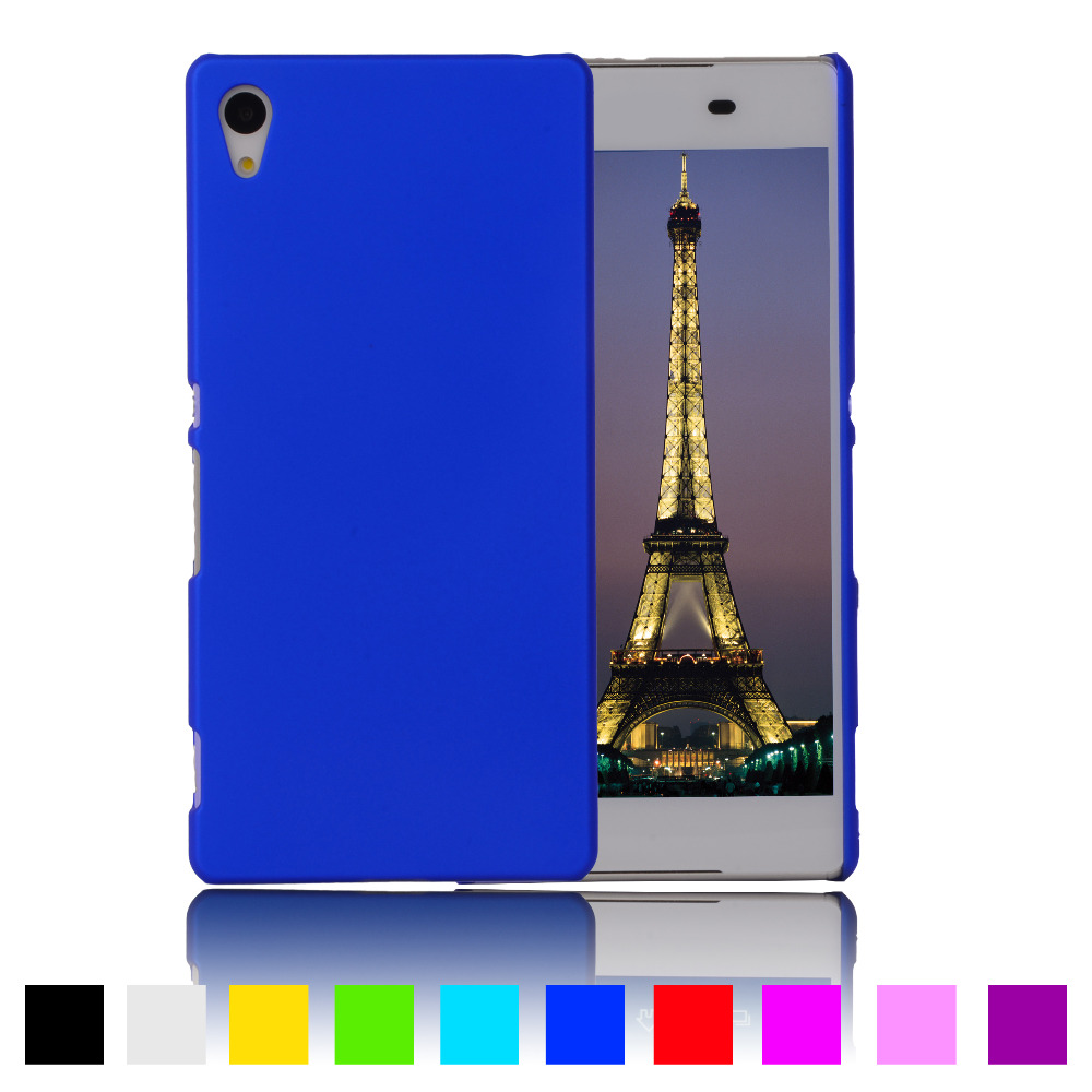 For Xperia Z1 Matte Rubber Rubberized Cover For Sony Xperia Z1 L39h C6902 C6903 Case Hard Plastic Protective Mobile Phone Cases(China (Mainland))