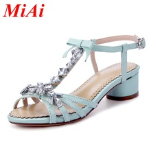 2016 new summer sexy women sandals rhinestone ladies gladiator sandals women wedding party casual shoes woman dress white shoes