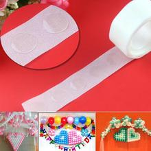 100Pcs/Lot Removable Balloon Glue Wedding Birthday Decoration Attachment Glue Dot Foil Balloons Party Supplies Party(China (Mainland))