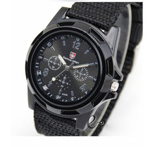 Hot Sale New Fashion Soldier Military Quartz Canvas Strap Fabric Dress Watch Men Outdoor Sports Watches For Male