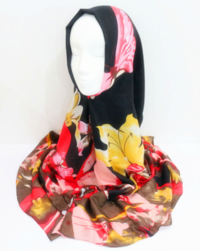 2016 new floral scarf thick cotton viscose print scarves women fashion flowers hijab muslim scarfs high quality wraps soft(China (Mainland))