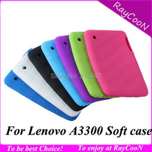 For Lenovo A3300 7″ tablet silicon case,For Lenovo a3300 a7-30 sweety silica gel Soft back cover case,free shipping