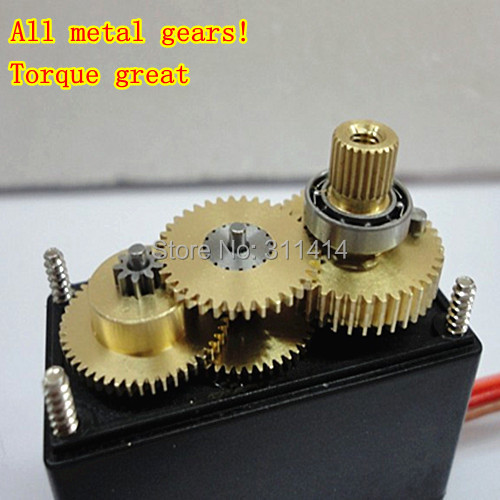 2pcs lot servo 360 degree continuous rotation servo mg995 Servo motor 360 degrees arduino