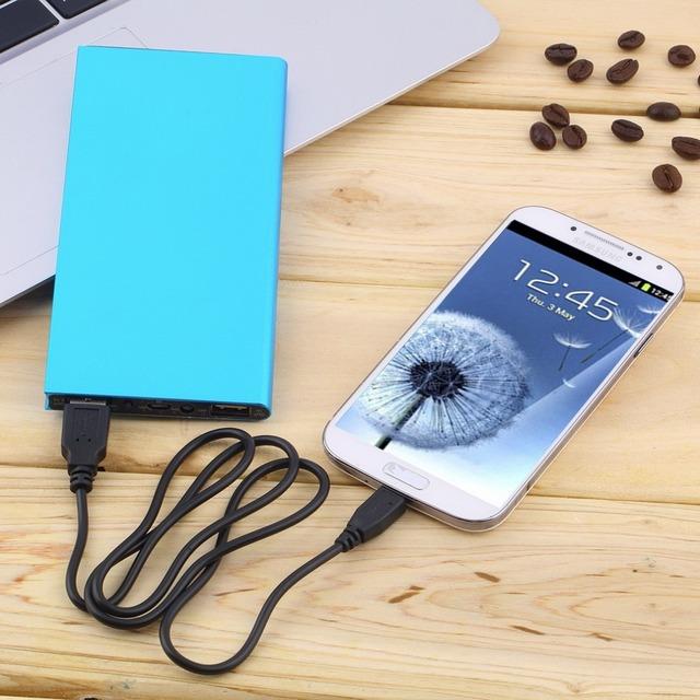 Новый полимер супер тонкий мобильный зарядное устройство ультратонкий 20000 мАч портативный внешнее зарядное устройство зарядное устройство для сотового телефона YKS