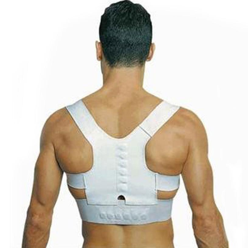 Best Deal Men Women Magnetic Posture Support Corrector Back Belt Band Pain Feel Young Belt Brace Shoulder for Sport Safety 1pcs(China (Mainland))