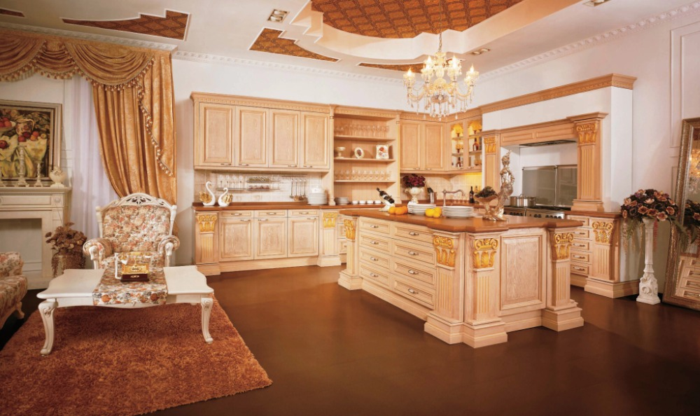 Teak Kitchen Furniture In Kitchen Cabinets From Home Improvement On