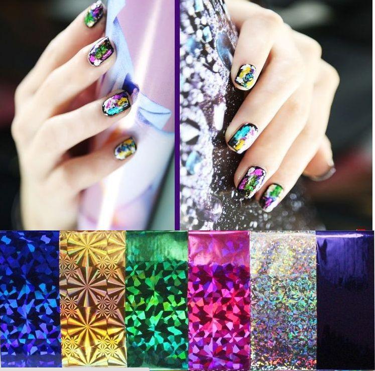 10 colors mix 10 feet Nail Art Transfer Foil Set Tip Nail Decoration 1NLC<br><br>Aliexpress