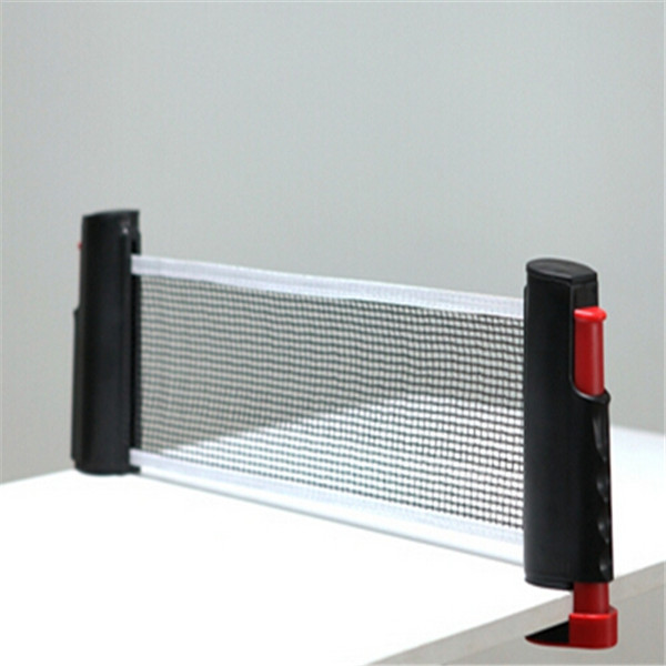 NEW Portable Telescopic Retractable Table Tennis Net Rack Replacement Ping Pong Net Fitness Sports Exercise