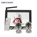 DBPOWER Video Camera 7 Wireless Night Vision Baby Monitor Security Cameras LCD Receiver with 2 IR