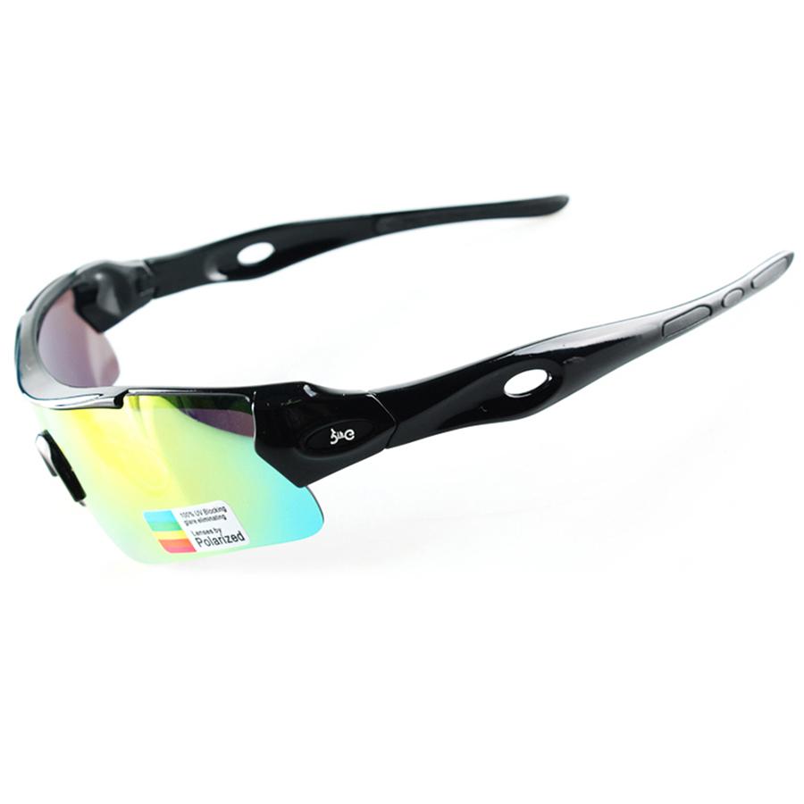 2 Lens Professional Polarized Cycling Glasses Outdoor Sports Eyewear UV 400 Bike Fishing Hiking Sunglasses Gafas Cicismo Goggles