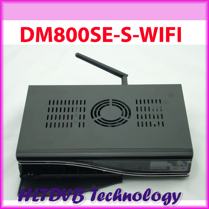 DM800se DM800 SE With WIFI DM 800 hd se Good Quality sim2.10 bcm4505 tuner Digital Satellite TV Receiver fedex Free Shipping(China (Mainland))